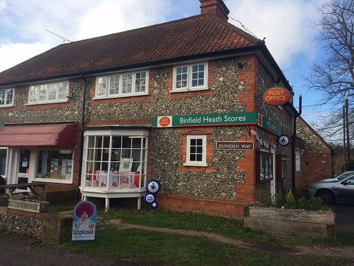 Binfield Heath shop